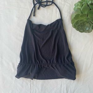 Urban Outfitters Backless Cropped Halter w/Cowl